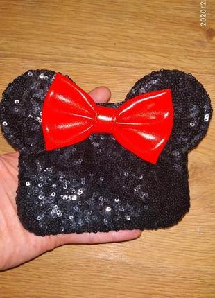 Шикарный кошелек дисне минни маус minnie mouse.
