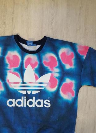Свитшот adidas l оригинал oversize оверсайз овер сайз свитер кофта худи женская