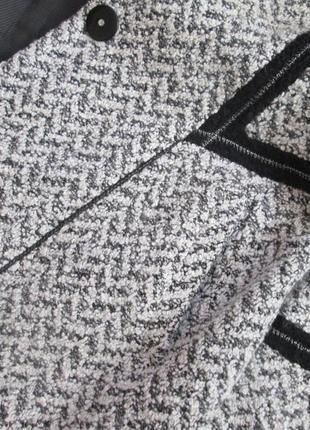 Демисезонное пальто elvi из шерсти букле5 фото