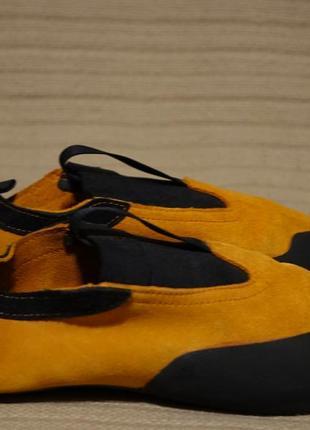 Фирменные ярко-оранжевые замшевые скальные туфли mammut  швейцария eur 42 р.