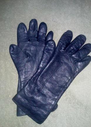 Перчатки кожаные размер xs