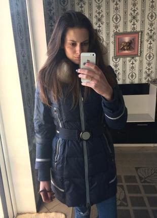 Курточка куртка пуховик женский зимний зимняя