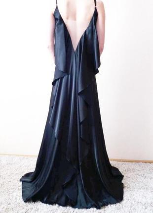 Платье сарафан длинное вечернее выпускное