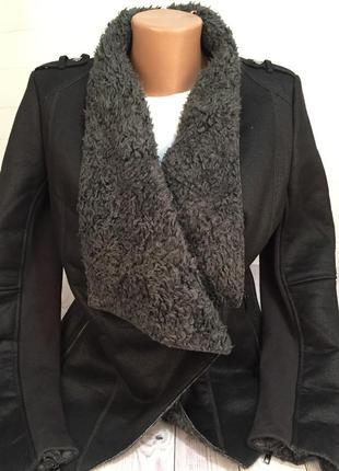 Куртка дубленка camaieu