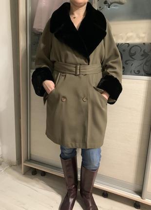 Плащ пальто wallis размер m-l англия