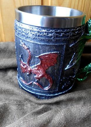 """Бокал для пива """"драконы"""""""