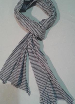 1+1 = 3 легкий трикотажный шарф marc o polo подписной+300 шарфов на странице