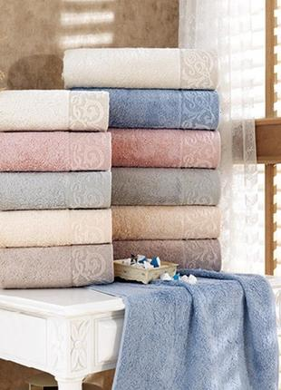 Элитные бамбуковые полотенца sikel premium bamboo