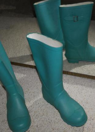 H&m сапоги резиновые чоботи гумові