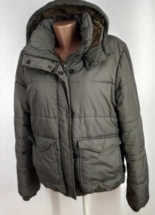 Зимняя куртка на синтепоне размер 44 (наш 48)