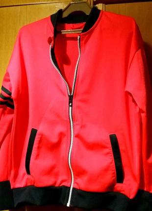 Кофта джемпер олимпийка adidas оригинал коралловый цвет унисекс детская