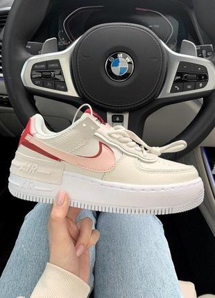 Nike air force shadow шикарные женские кроссовки найк (весна-лето-осень)😍