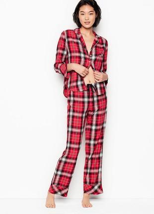 Шикарная флисовая пижамка victoria secret