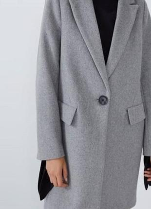 Пальто новое zara