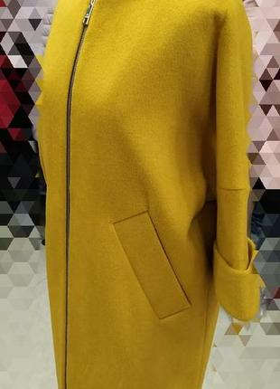 Кардиган- пальто,шерсть, размер 46