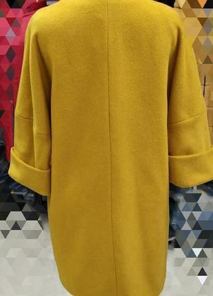 Кардиган- пальто,шерсть, размер 462 фото