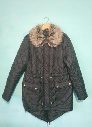 Куртка парка стёганая