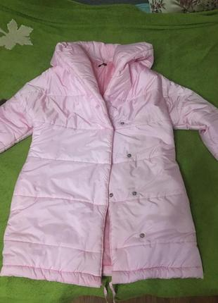 Розовая куртка зефирка