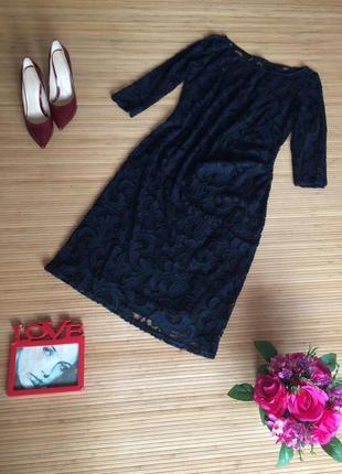 Красивое гипюровое платье,размер xl