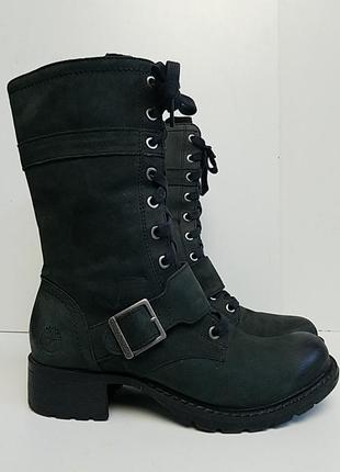 Женские зеленые ботинки timberland сапожки #пасхавдома