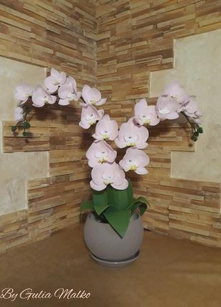 Светильник в виде орхидеи