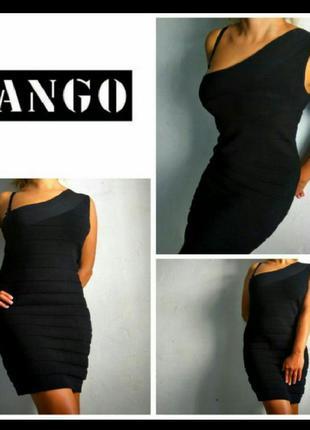 Бандажное платье mango