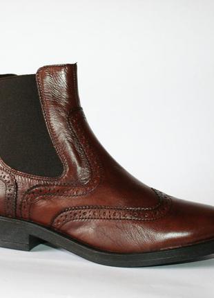 Ботинки челси tous la vie оригинал натуральная кожа 35-40