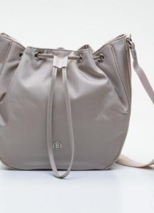 Новая лёгкая сумка bogner crossbody кисет есть 3 цвета: чёрный, пудра, тауп