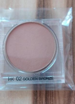 Пудра бронзер  helena rubinstein golden beauty bronzing pressed powder 02 golden bro