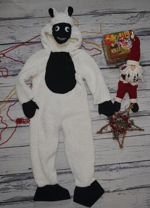5 - 6 лет 116 см фирменный новогодний карнавальный костюм овечка баранчик