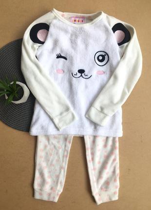 Новая! флисовая пижама с нюансом