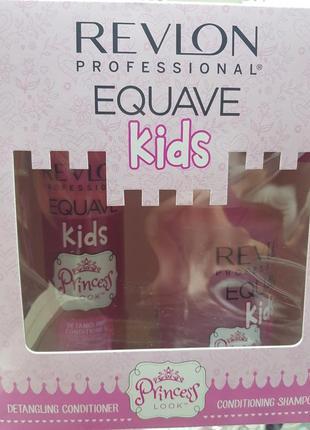 Набор детский шампунь + кондиционер двухфазный princess equave revlon professional