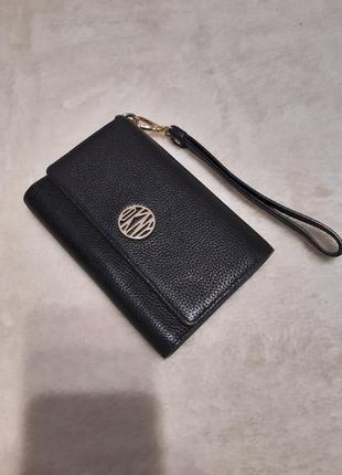 Кожаный кошелёк dkny