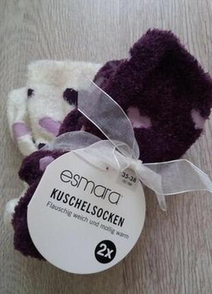 Фирменные теплые женские плюшевые носки esmara, германия