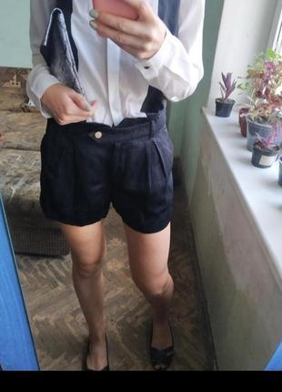 Элегантные шорты с высокой талией шорты классические