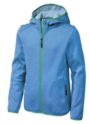 Куртка для мальчика голубая  стретч-куртка бренд crivit