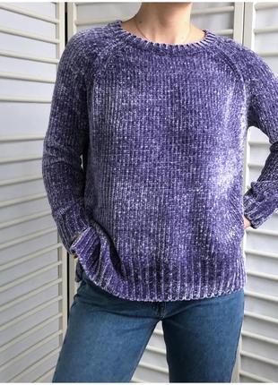 Мягкий велюровый свитер