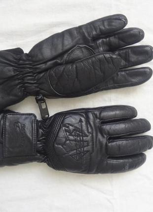 Перчатки кожаные energy