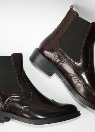 Ботинки челси tous la vie оригинал. натуральная кожа. 35-405