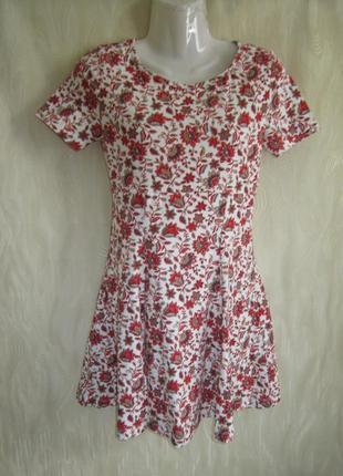 Платье forever 21 котон