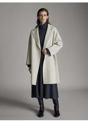 Massimo dutti пальто  шерсть