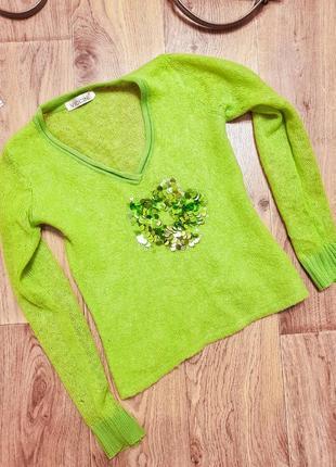 Мохеровый свитер viccini