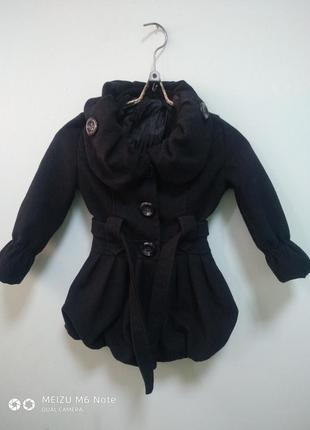 Кашемировое пальто на девочку.