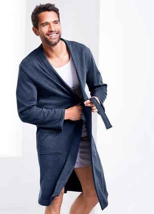 Шикарный теплый халат на плюшевой махре от тсм чибо (tchibo), германия, размер xl
