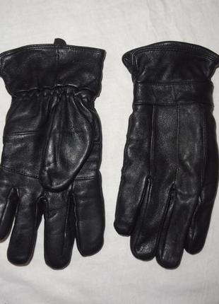 Качественные мужские кожаные перчатки