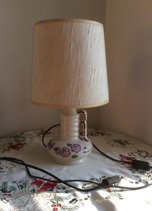 Настольные лампы керамика