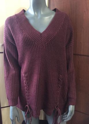 Стильный свитер ботал