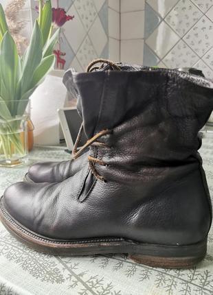 Дизайнерские кожаные ботинки, ручная работа, трансформеры