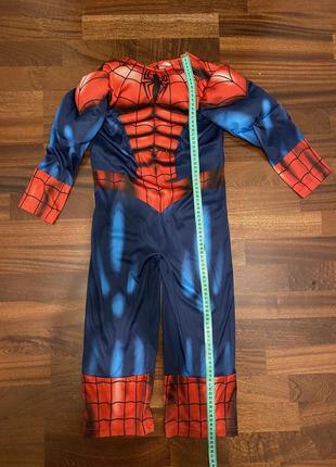 Карнавальный маскарадный костюм спайдермен человек паук