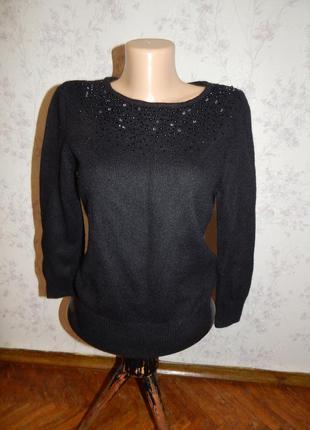 H&m свитер тёплый стильный модный рs